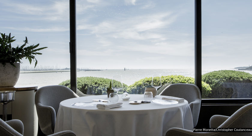 The view from three-MICHELIN-starred Christopher Coutanceau.
