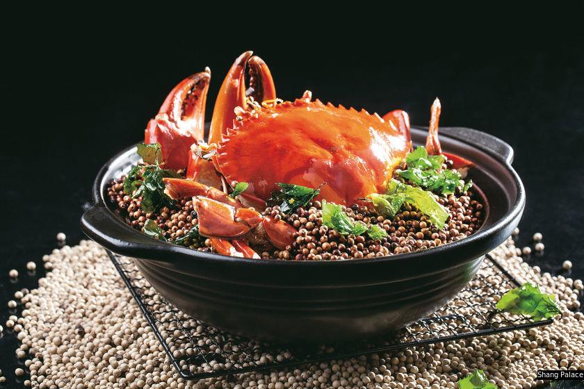 香宮的胡椒焗大肉蟹
