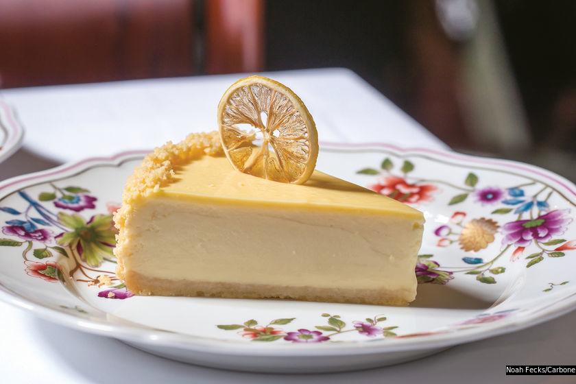Carbone 的檸檬芝士蛋糕