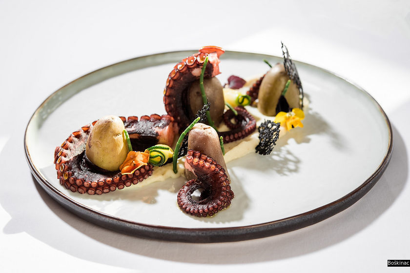 Local Croatian produce is the star at newly minted one MICHELIN star Boškinac (Photo: Boškinac)
