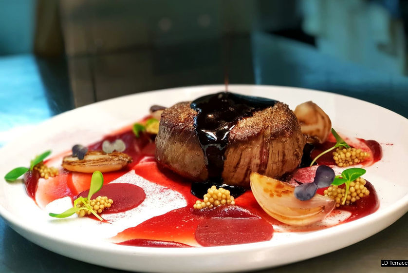 LD Terrace 的料理,精美而且味道和諧