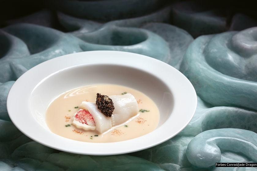 49 間指定米芝蓮推薦餐廳,菜系涵蓋粵菜、日本菜、意大利菜、扒房至印尼菜,選擇豐富多元。圖中菜式來自譽瓏軒