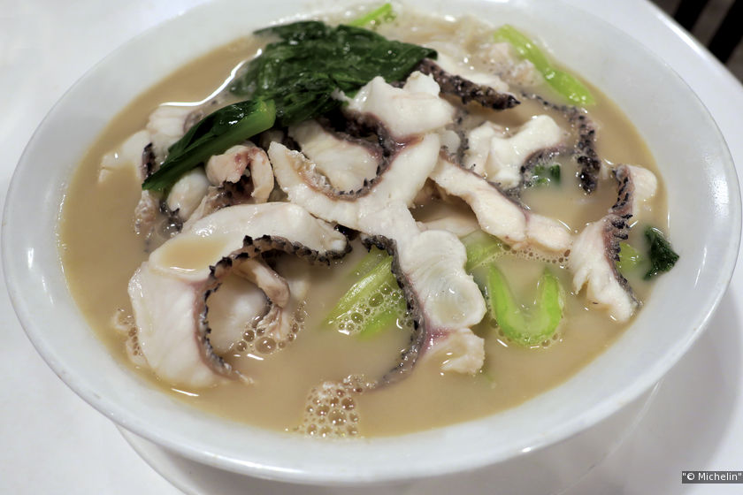 One of Ka Soh's signature dishes is its fish head noodle.