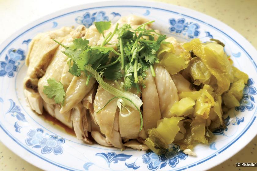 中峇魯海南起骨雞飯。
