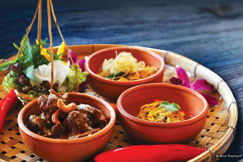 曼谷廚藝教室推薦:藍象Blue Elephant  米其林星等餐廳