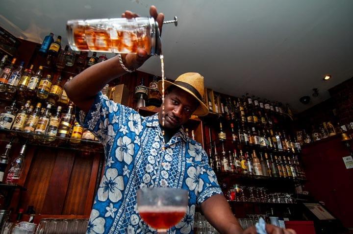 Rum ambassador Ian Burrell