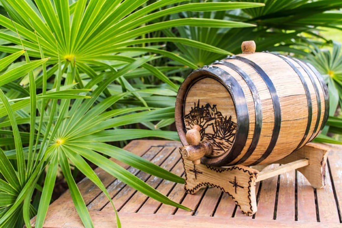 There are basically two barrel types that exist: American and French oak