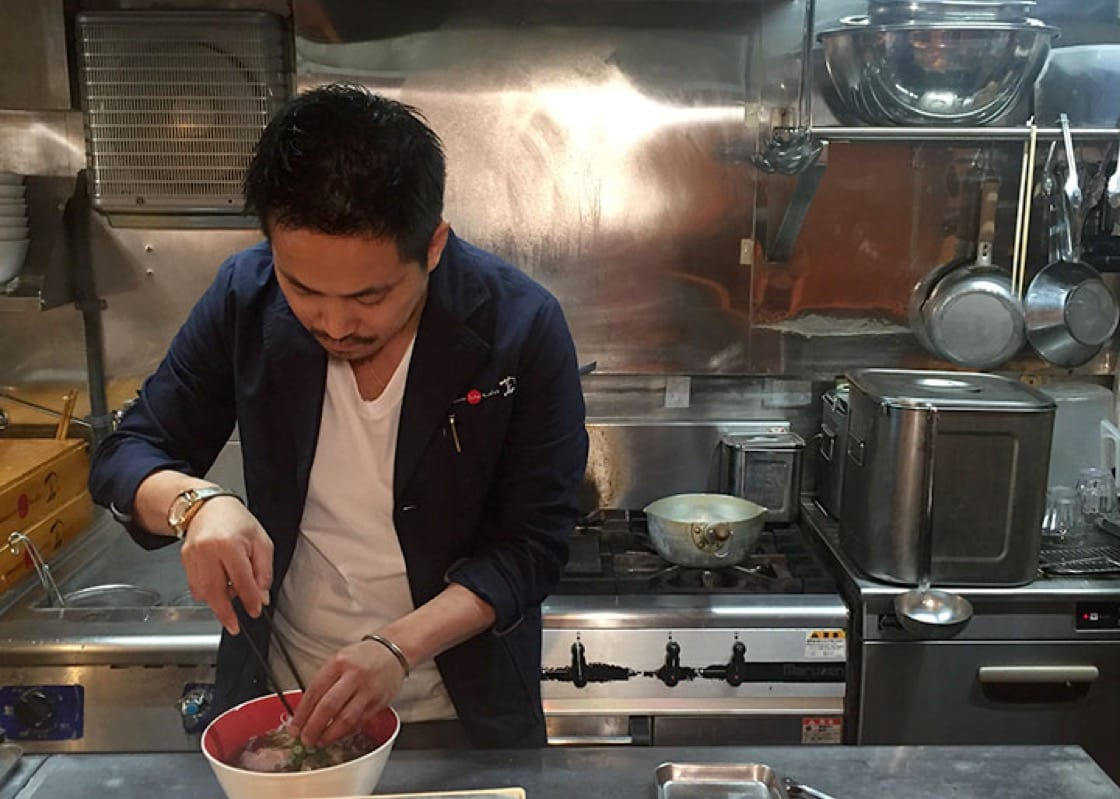 Yuki Onishi, chef-owner of Japanese Soba Noodles Tsuta (Pic: MICHELIN Guide Digital)
