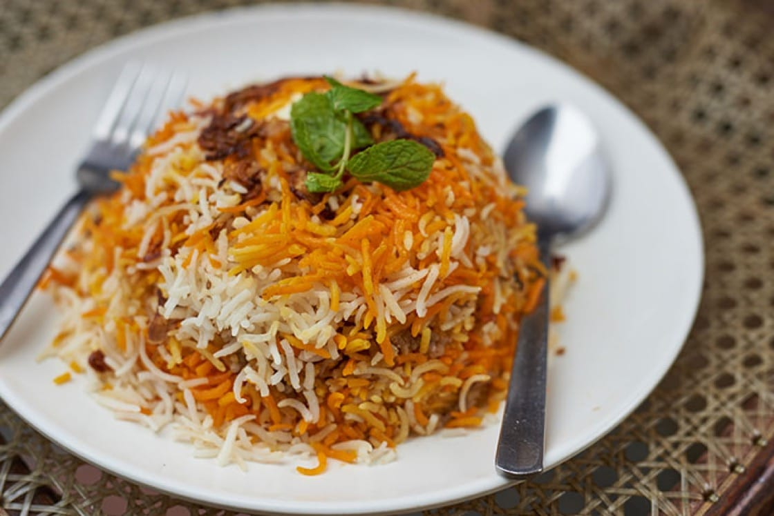 The biryani at Bismillah Biryani (Pic: MICHELIN Guide Singapore)
