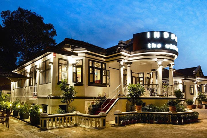 IndoCafe - The White House resides in a colonial-era bungalow on Scotts Road