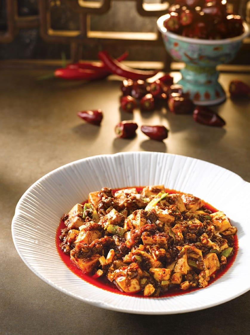 四川飯店的名菜:陳麻婆豆腐(圖片來源:四川飯店)