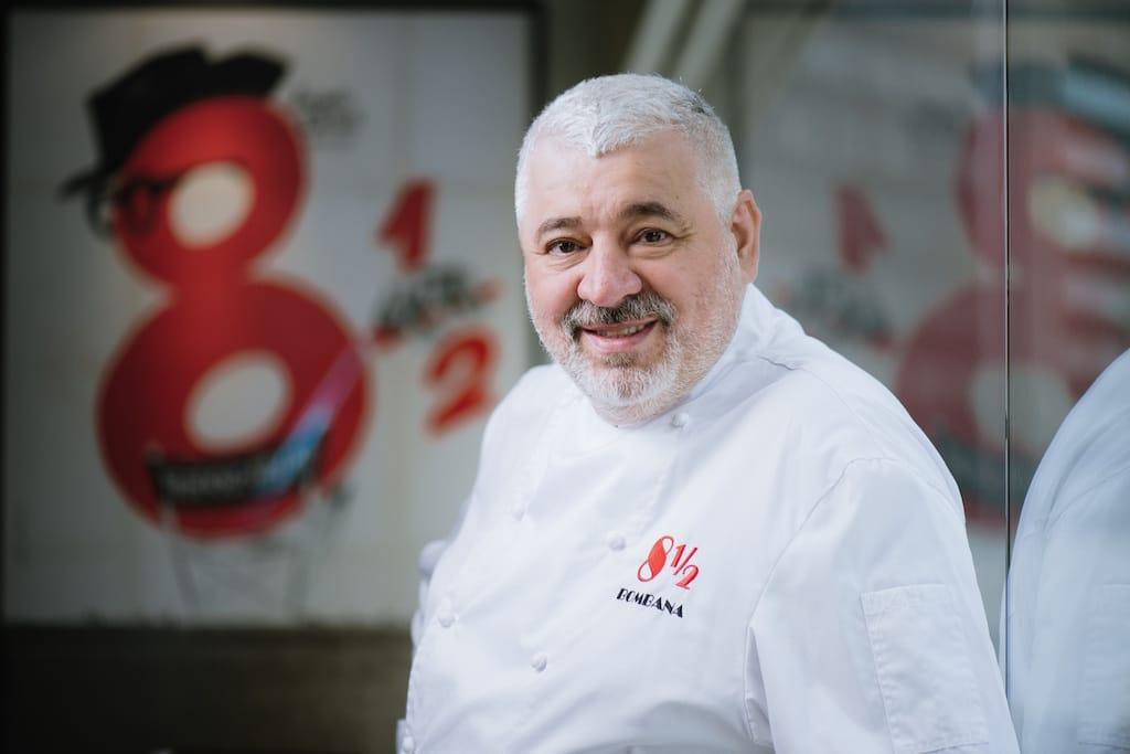 Chef Umberto Bombana of 8½ Otto e Mezzo BOMBANA.