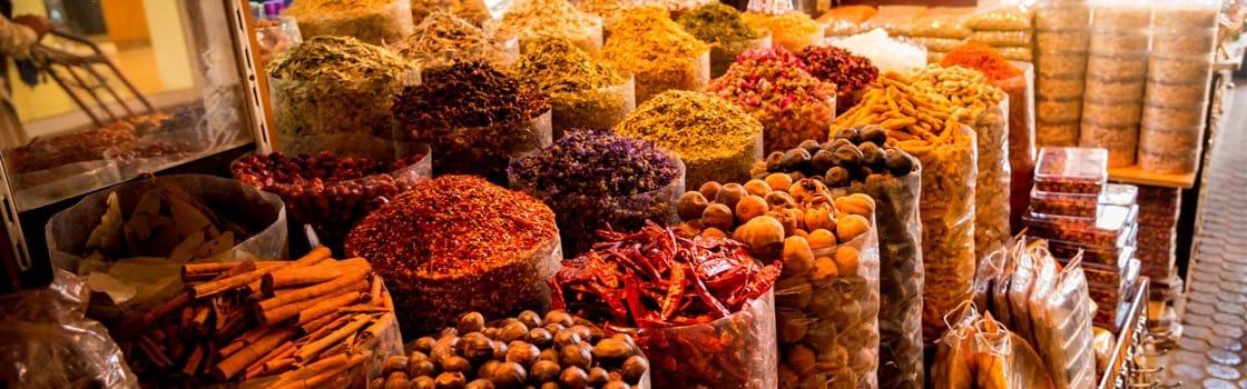 Spice Market, Dubai, United Arab Emirates, Middle East ...   Middle East Spice Market