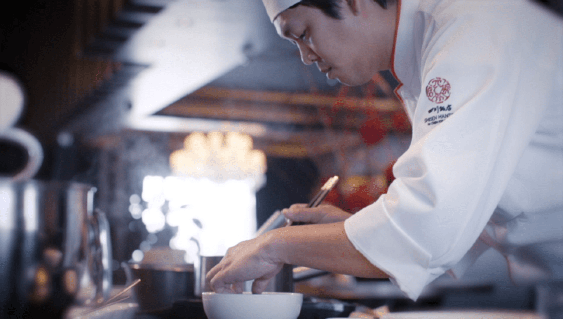 """Chen Kentaro's grandfather has this piece of advice for him, """"No matter the occasion, cook like you are cooking for someone important like your family or girlfriend, and put your heart into it."""""""