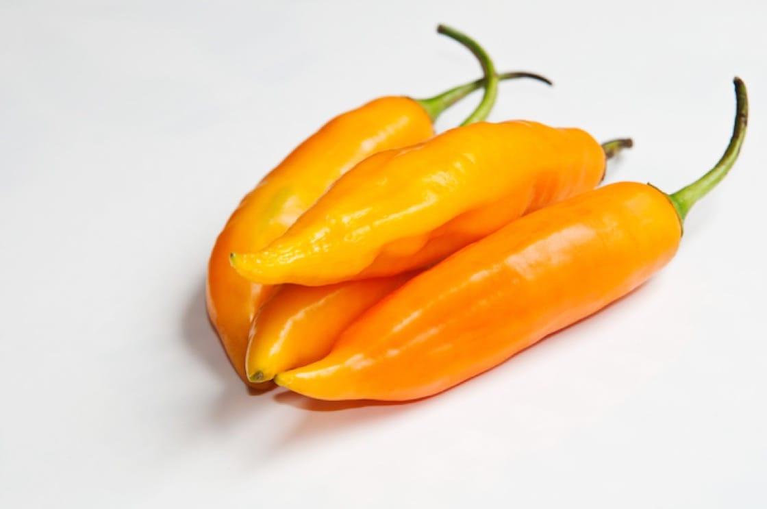 秘魯黃辣椒。