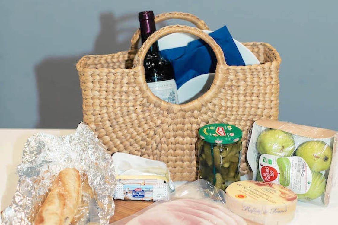 法式野餐篮其实并不难准备。