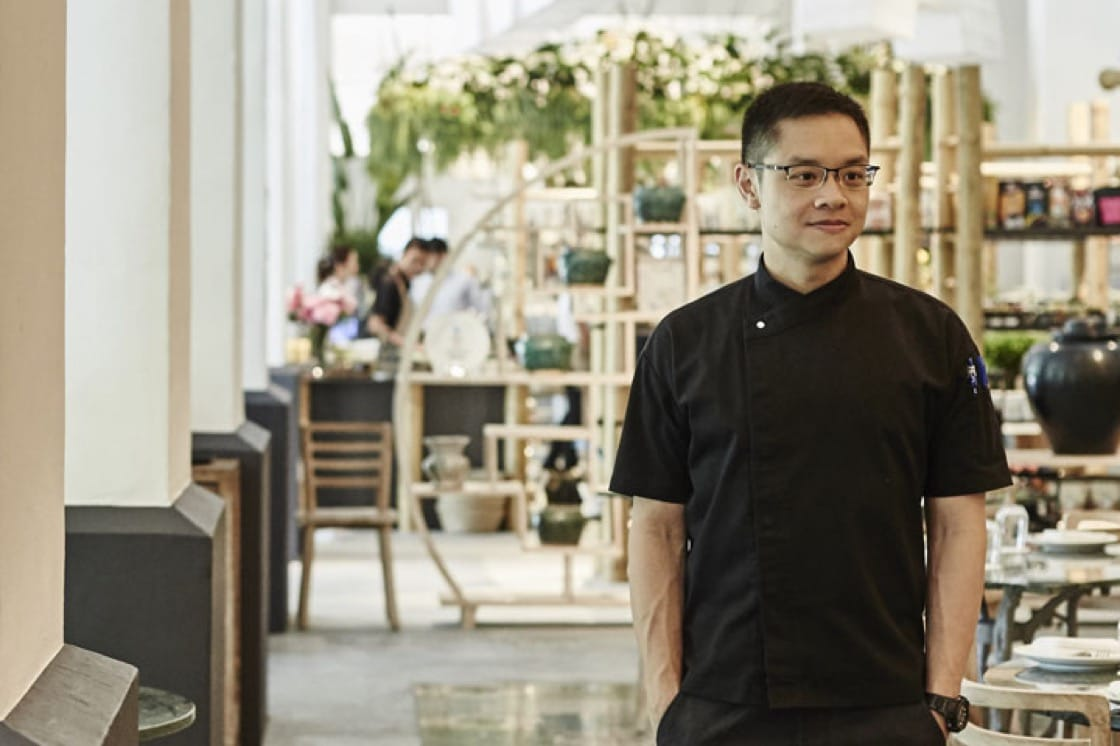 Chef Malcolm Lee. Photography by Wong Weiliang.