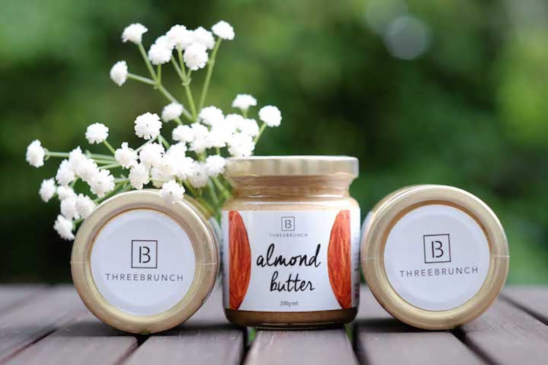 ThreeBrunch uses only natural ingredients to make their nut butters