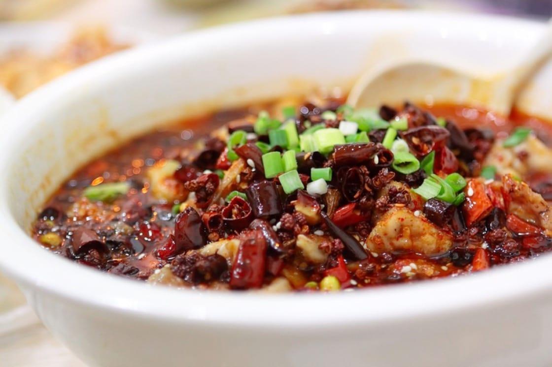 川菜佳餚水煮魚