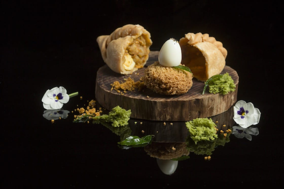 A quirky take on Old Chang Kee's curry puff, over at Labyrinth. Photo Credit: John Heng.