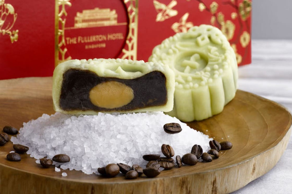 This year's coffee-flavoured edition was inspired by chef Leong's travels to Japan