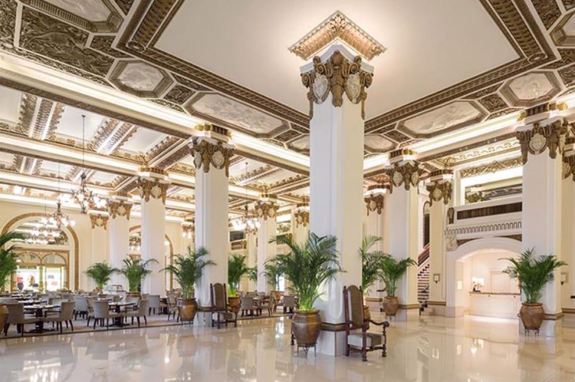 The Grand Interiors Of The Peninsula. Photo Courtesy Of The Peninsula Hong  Kong.