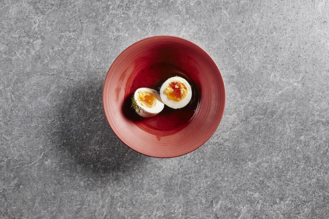 關東煮裏的蛋。 攝影:Wong Weiliang