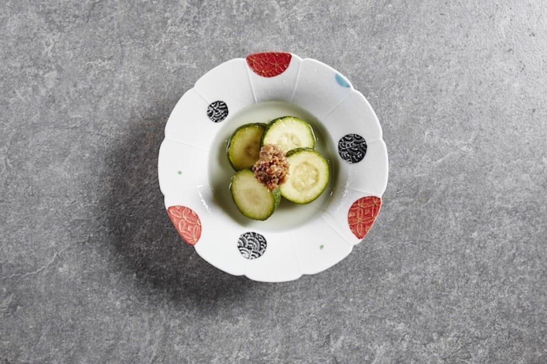 關東煮裏的意大利青瓜。 攝影:Wong Weiliang