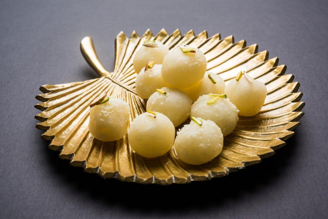 Rasgulla - a Bengali sweet