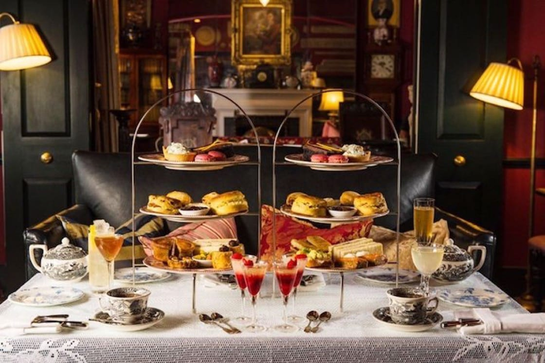 Afternoon tea is served in The Zetter Townhouse every day from 12:00 p.m. to 5:00 p.m.