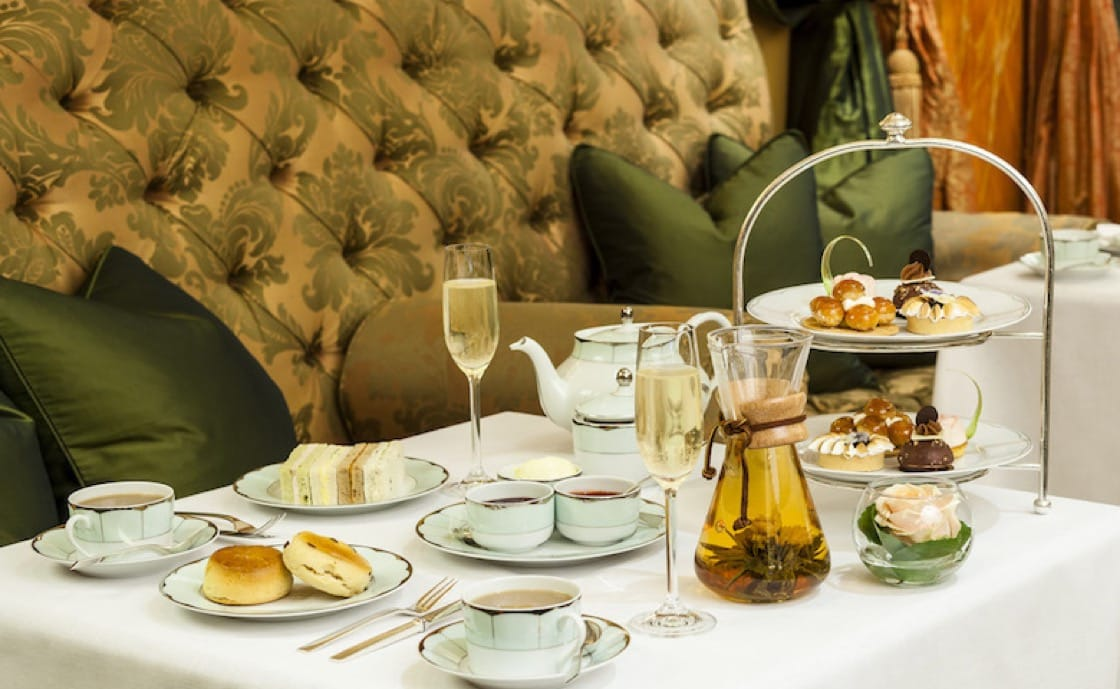 Champagne afternoon tea at The Dorchester hotel starts at £68 ($89) per person.