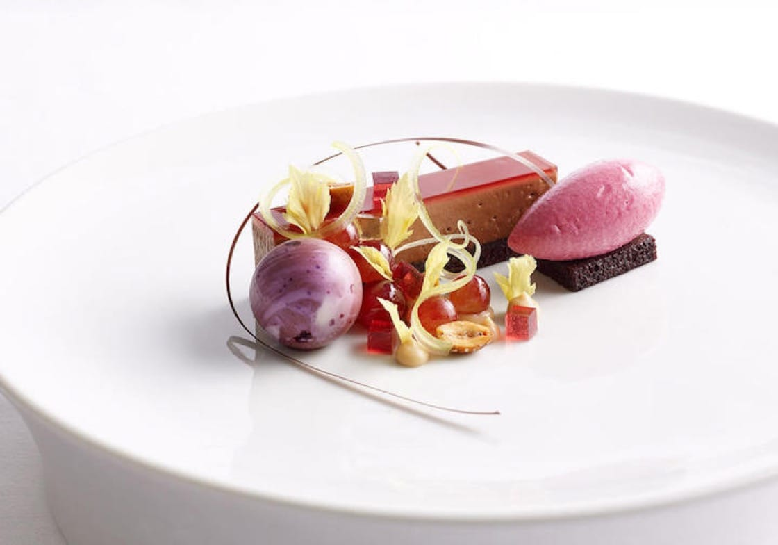 'Assortment of Desserts', the dessert course at the end of Per Se's chef tasting menu