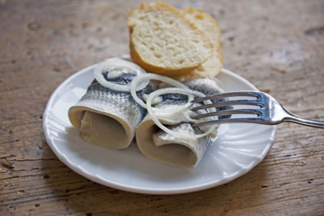 Rollmops常在德國早餐中出現,可解宿醉。