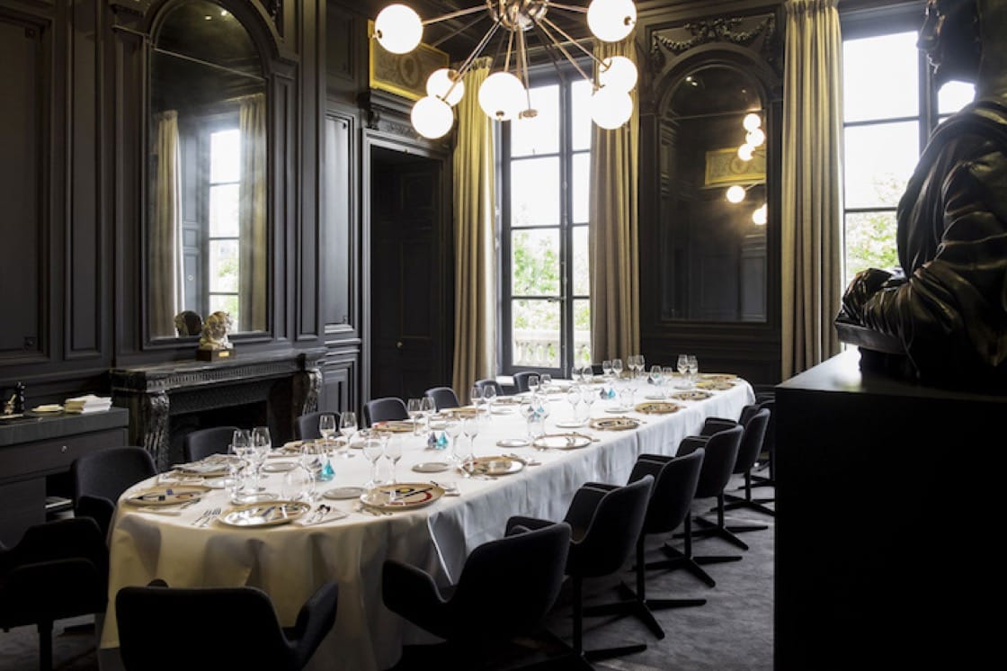 The Colors, Textures and Flavors menu at Guy Savoy Paris comes with blue lobster, monkfish and a layered truffle brioche.