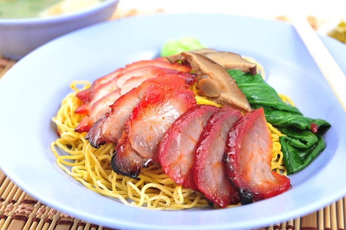 For $4 a plate, the portions at Ji Ji Wanton Mee is generous and of top-quality