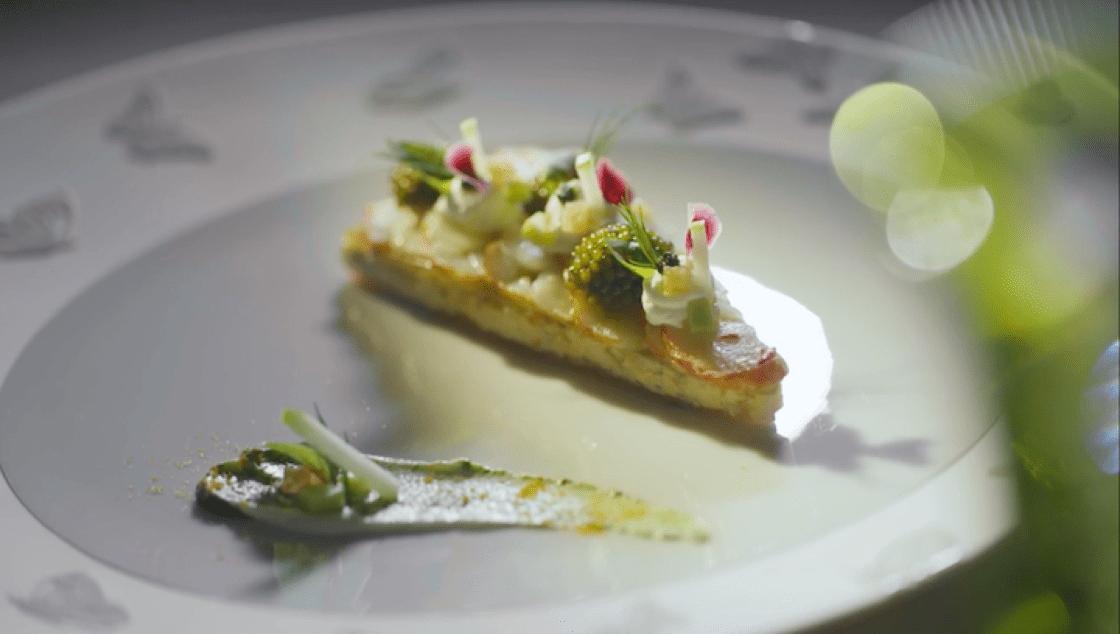 Fabrice Vulin 期待再見到啟發他創作這道菜的朋友。