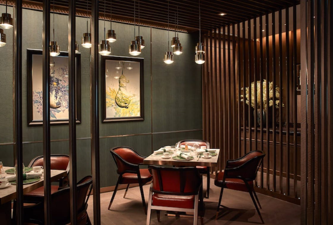 The duplex dining space of Ying Jee Club is dashing, referencing Chinese and Western cultures at the same time.