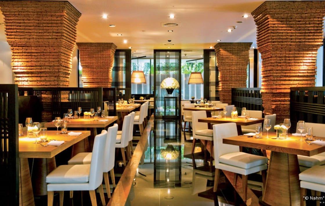 Nahm, by Aussie-born David Thompson, serves up refined Thai food in the COMO Metropolitan Hotel.