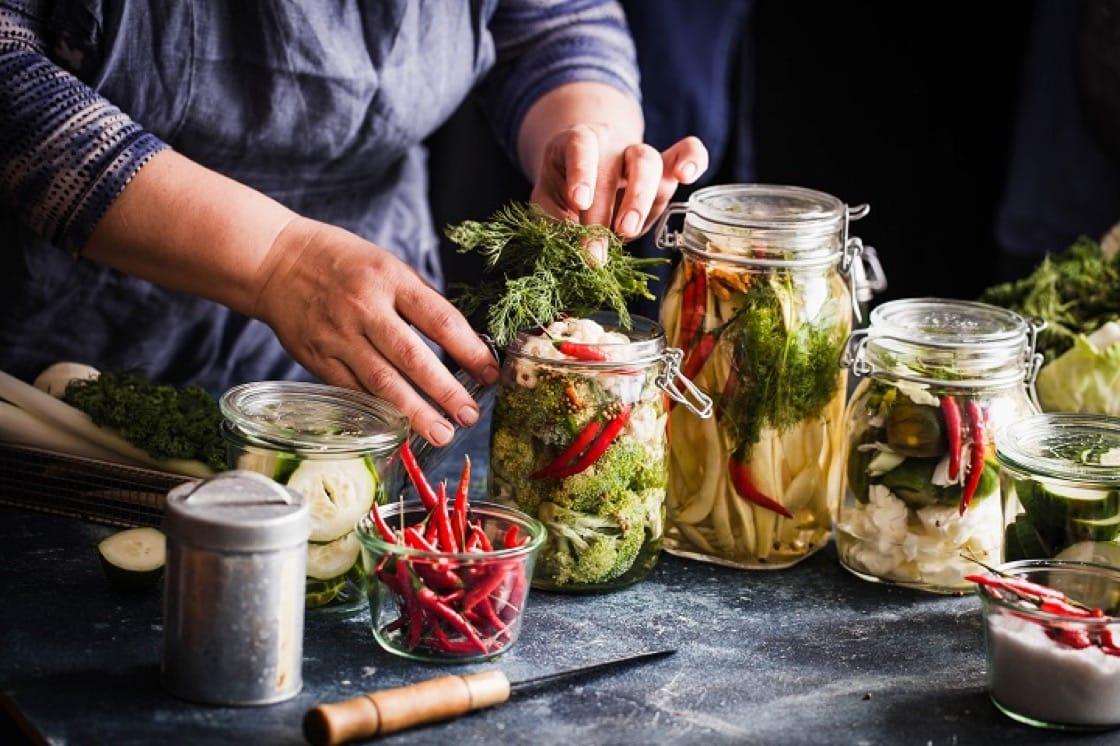 發酵食物對消化系統有益,被捧為健康的秘訣之一。(資料圖片)