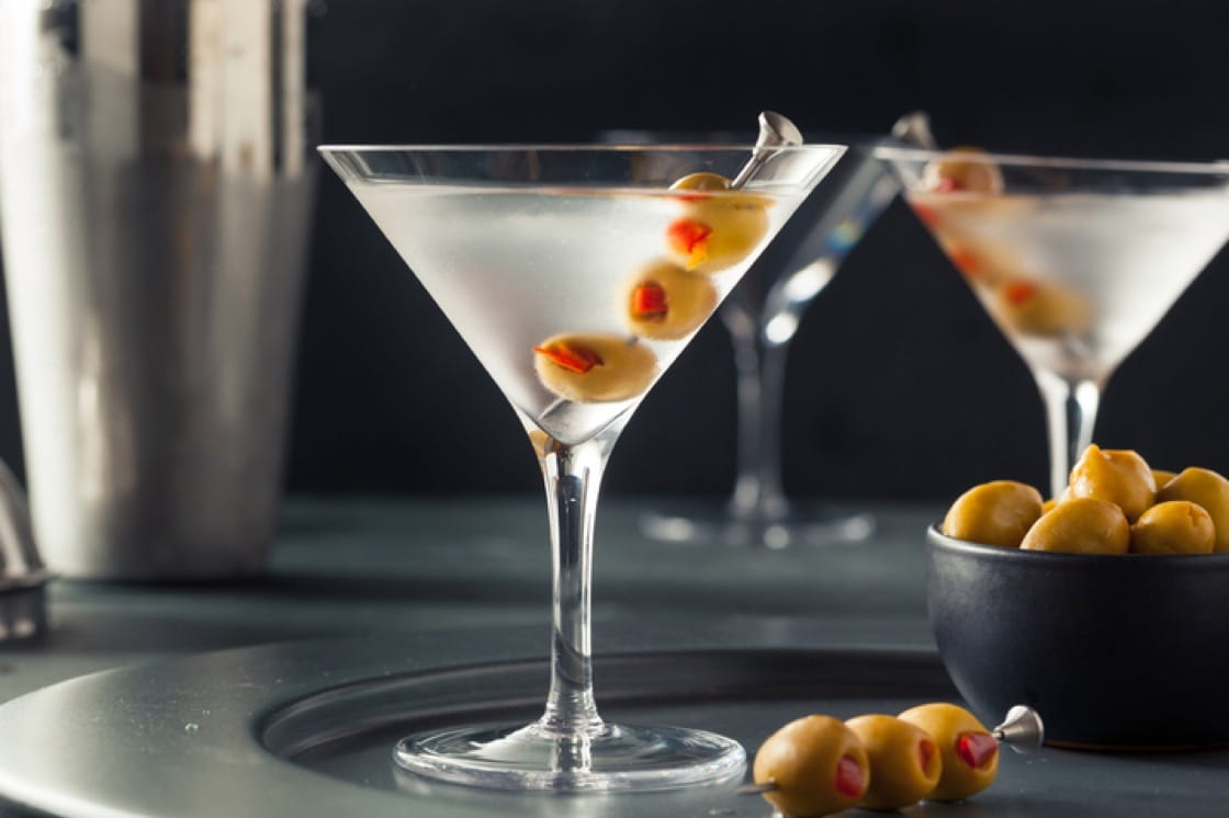 Behold, the dirty Martini.