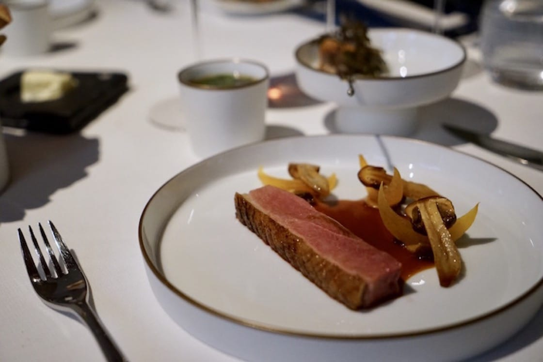 Using the duck from Pingtung, Royer reinvented his signature dish. (Photo by Liz Kao)