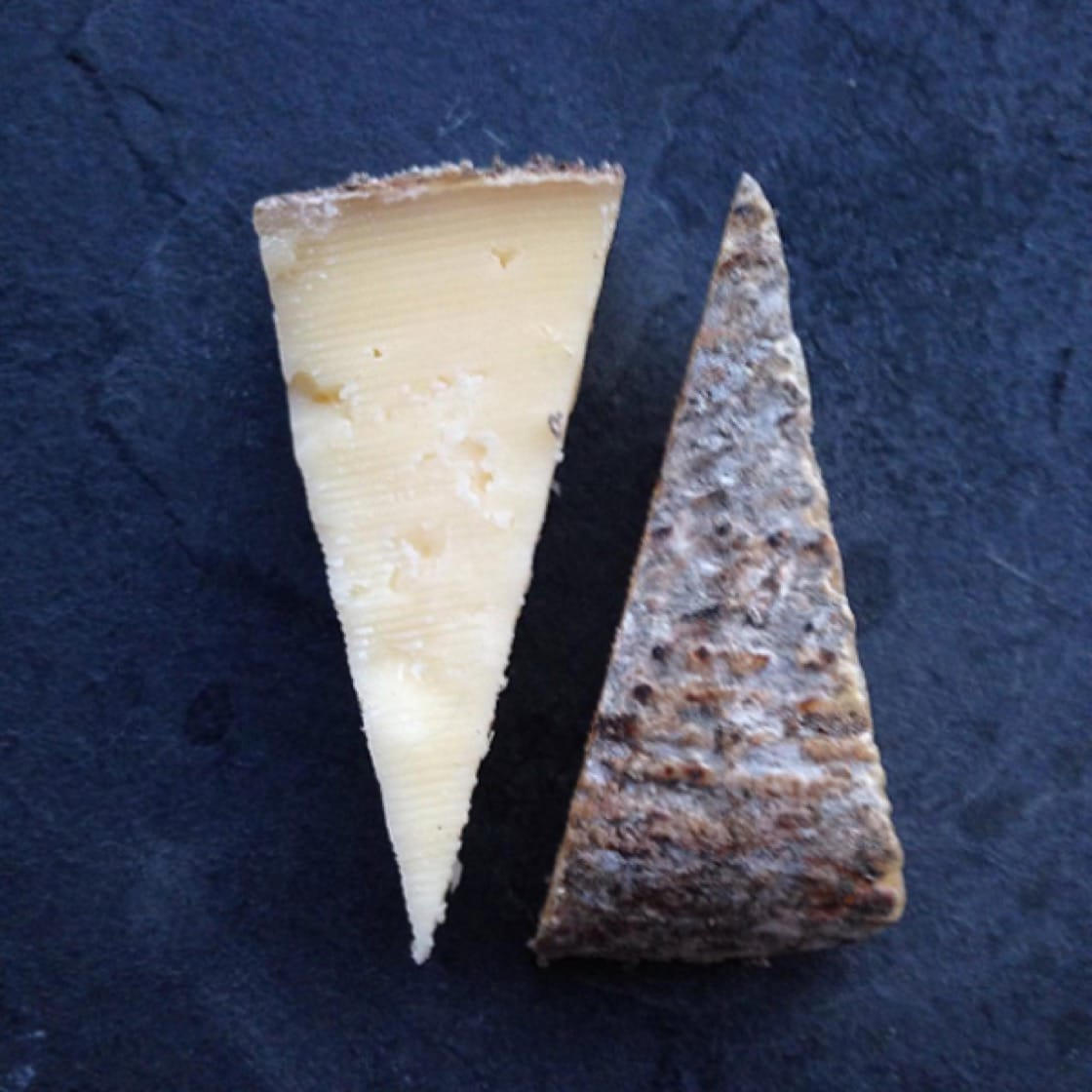 McGrath's Rascal cheese, a semi-soft raw cow's milk that's been aged for three to four months. Photo courtesy of McGrath Cheese.