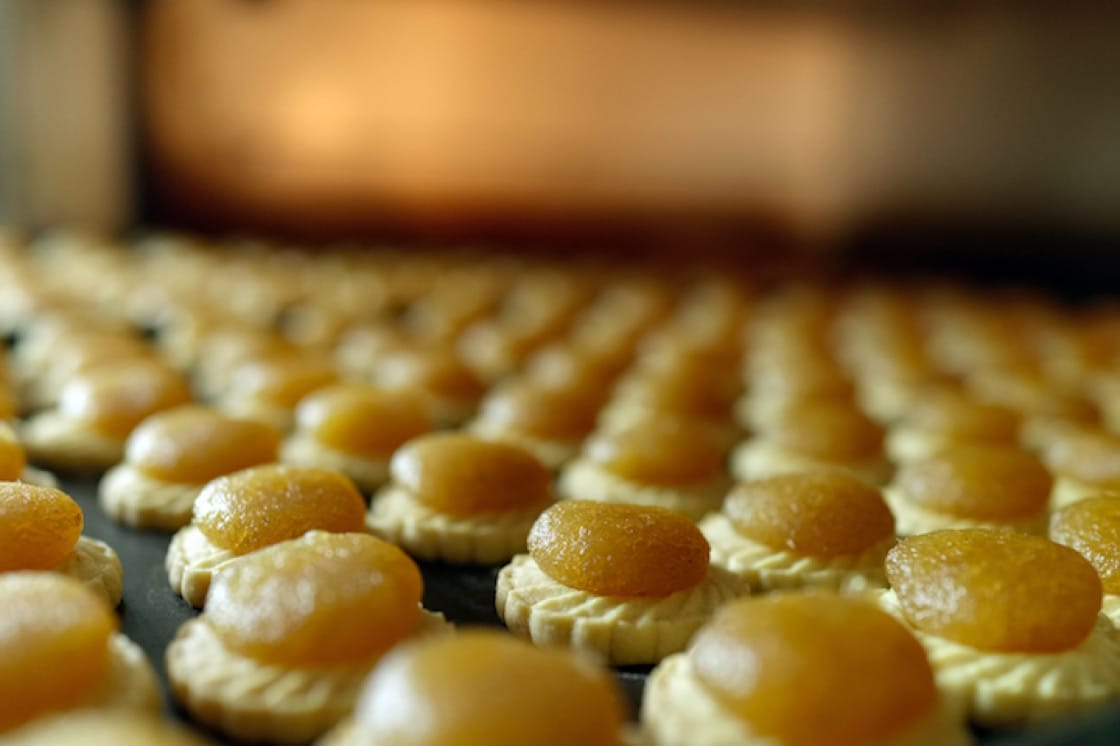 KELE's award-winning pineapple tarts are baked fresh and packaged without preservatives.