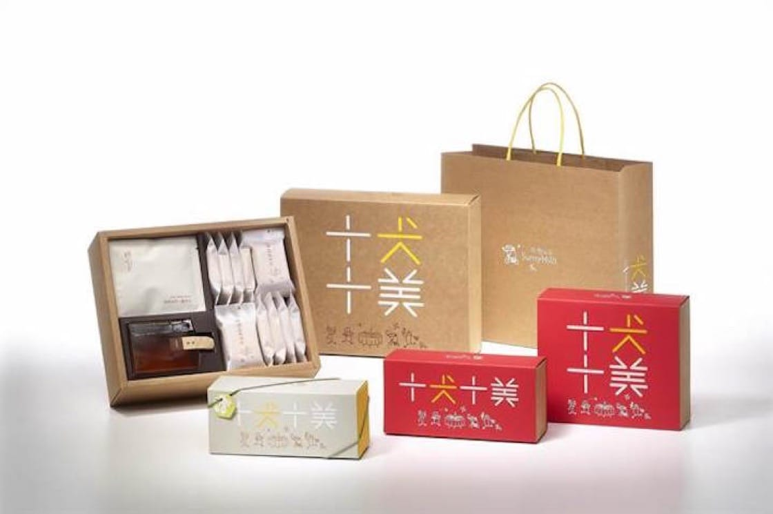微熱山丘的農曆年限定禮盒。(圖片來源:微熱山丘)