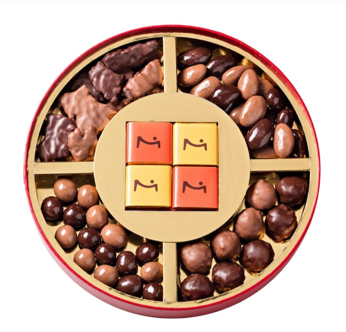 La Maison du Chocolat 的狗年吉祥禮盒。(圖片來源:La Maison du Chocolat)