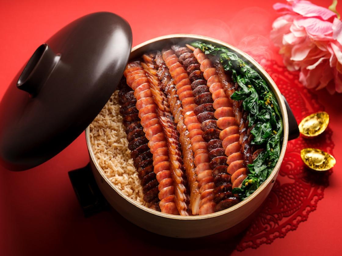 八珍黄金腊味饭(图片来源:索菲特酒店)