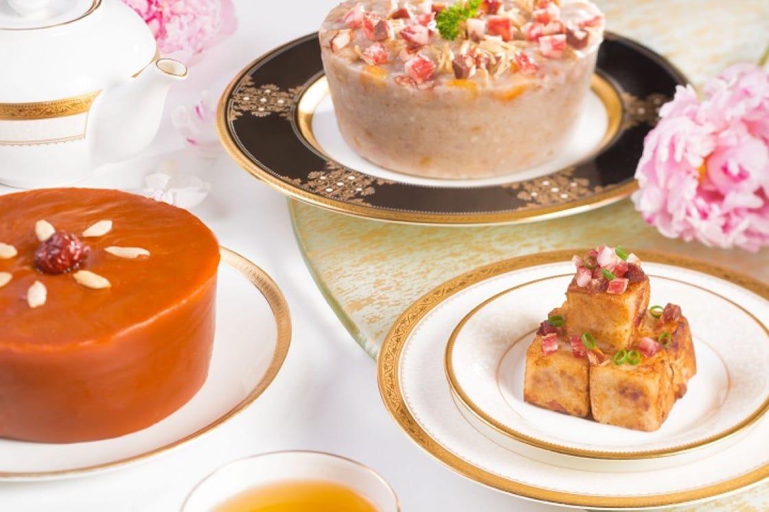 唐閣推出的賀年糕點,絕不使用添加味精及防腐劑。(圖片提供:香港朗廷酒店)
