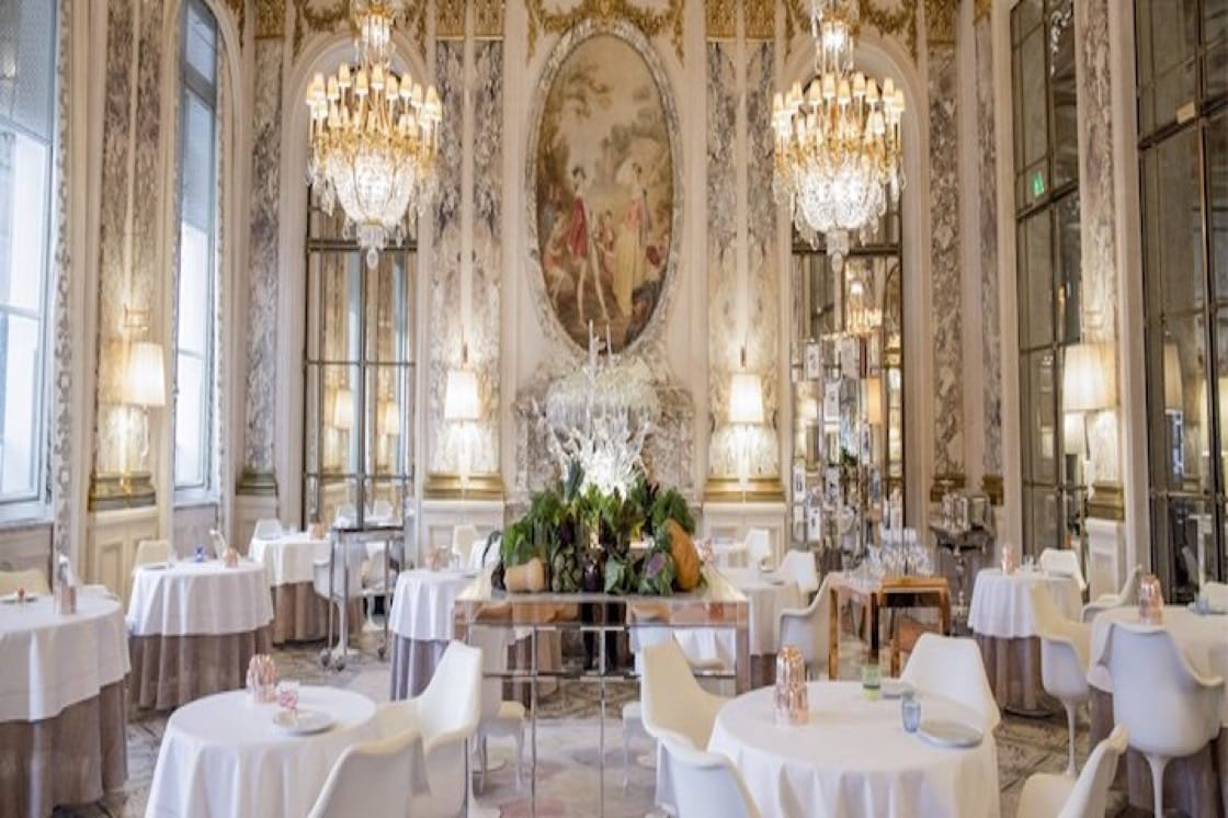 (Photo courtesy of Le Meurice Alain Ducasse.)