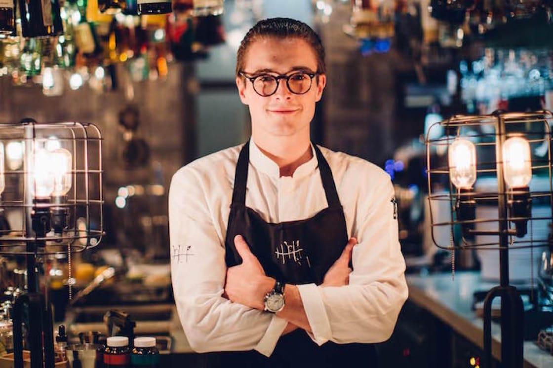 Joe Schofield heads up the bar at Singapore's Tippling Club.