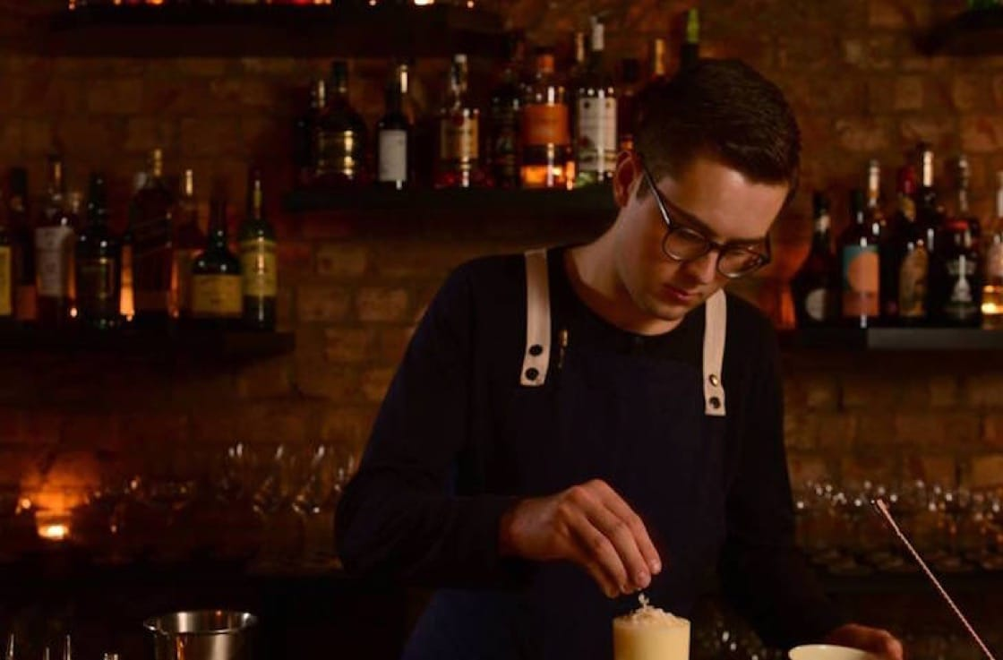 Younger brother Daniel Schofield is assistant bar manager at London's hip Coupette.